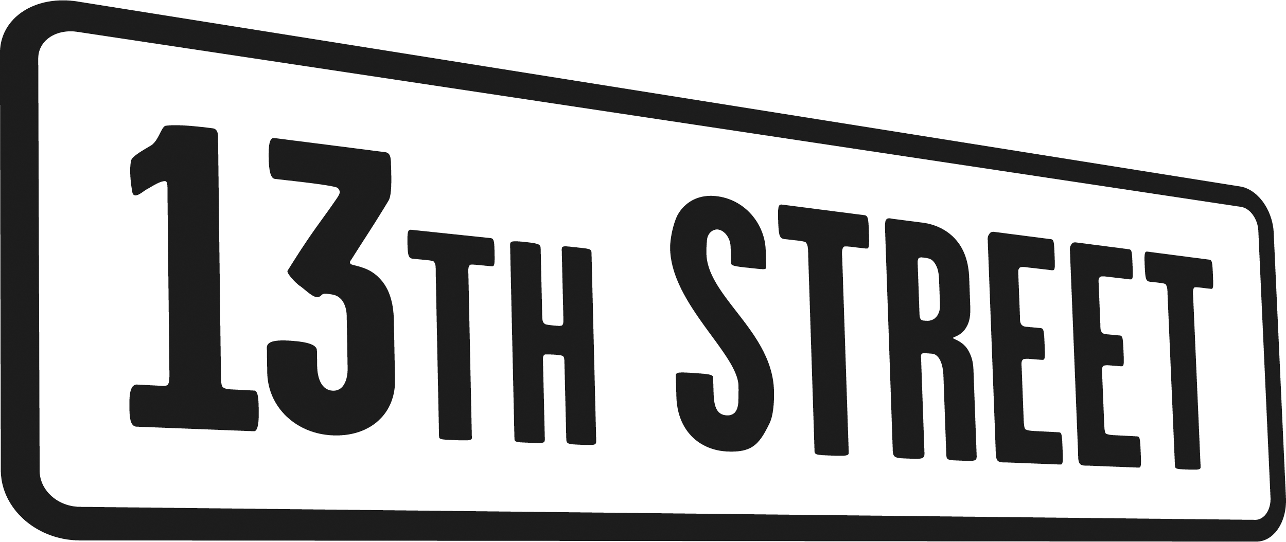 13th Street Logo photo - 1