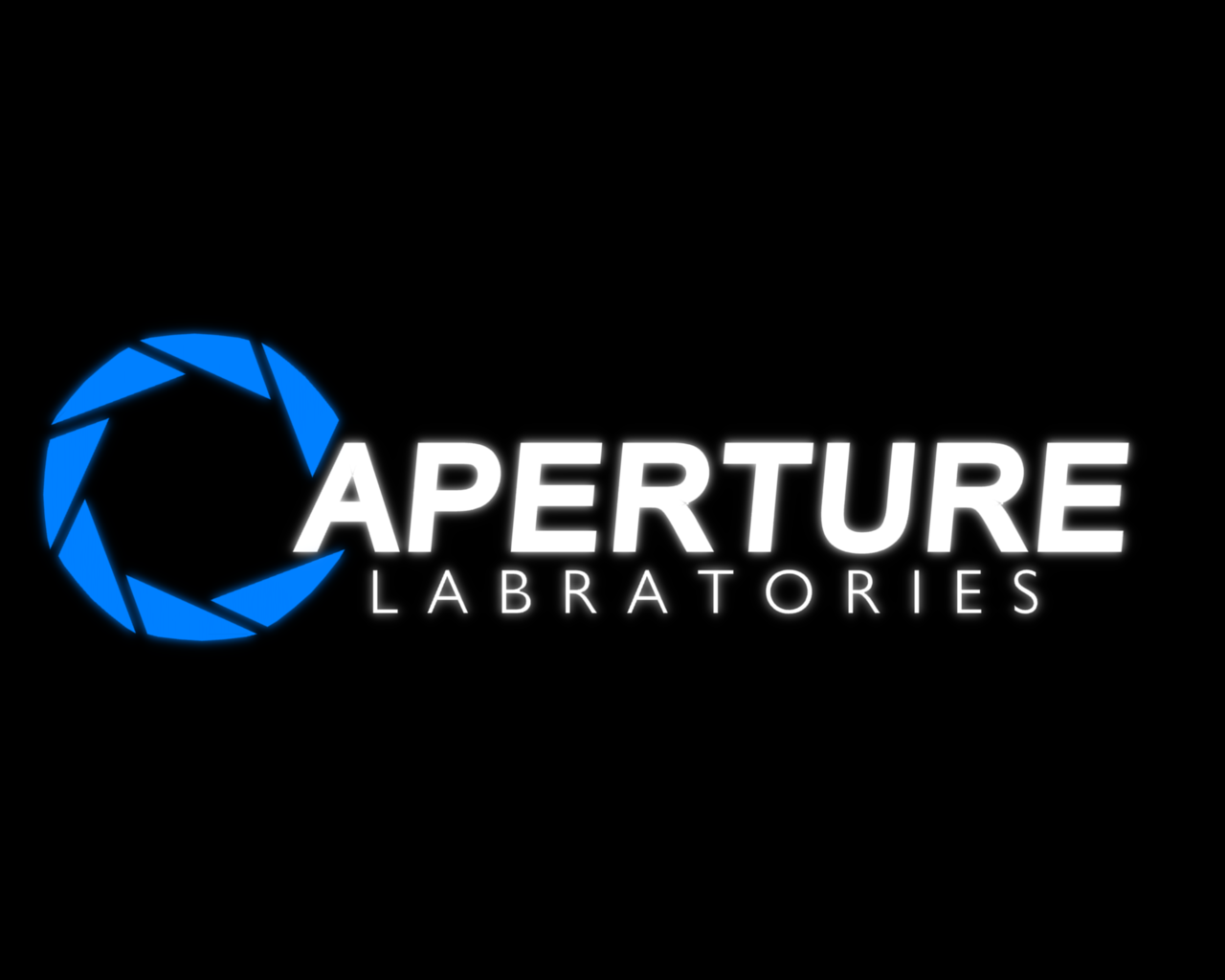 Aaperture Science (Portal) Logo photo - 1
