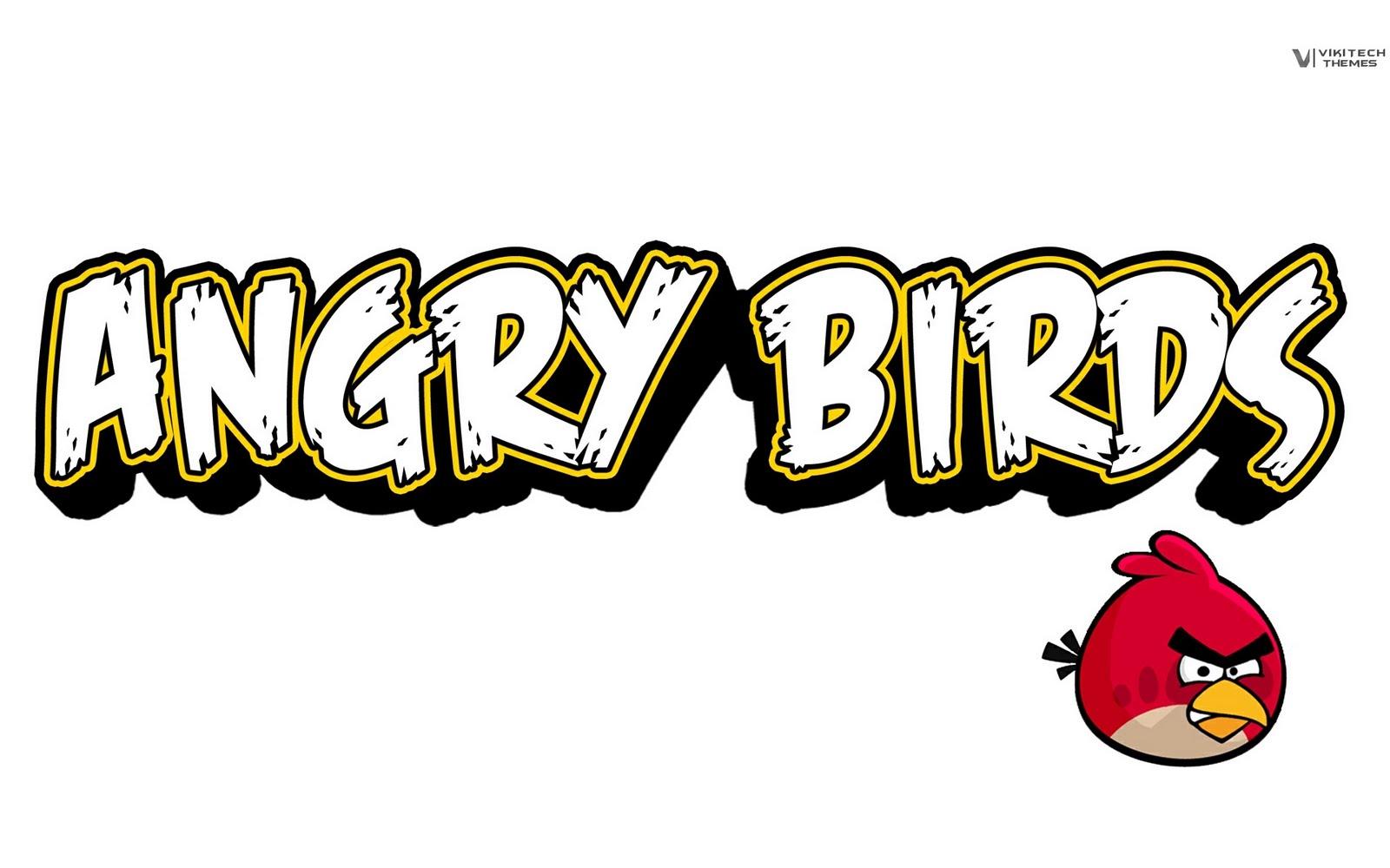 Angry Birds Logo photo - 1