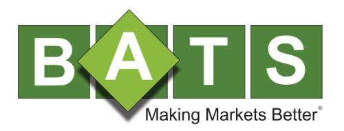 BATS Global Markets Logo photo - 1