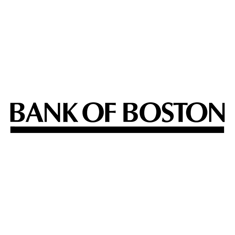 Bank Of Boston Logo photo - 1