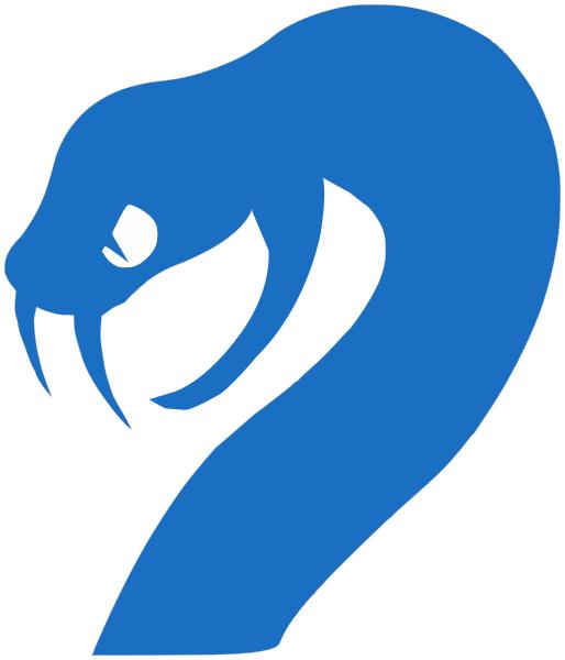 Blue Snake Logo photo - 1