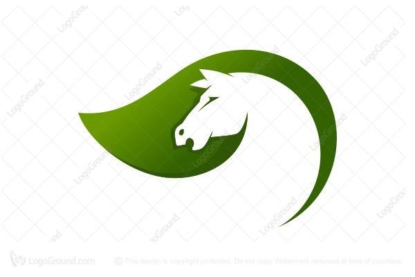 Green Horse Logo photo - 1