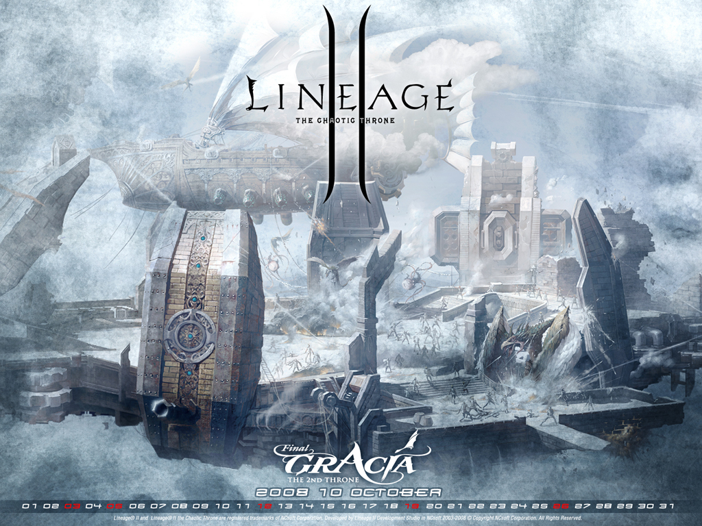 Lineage 2 - The Chaotic Throne Logo photo - 1