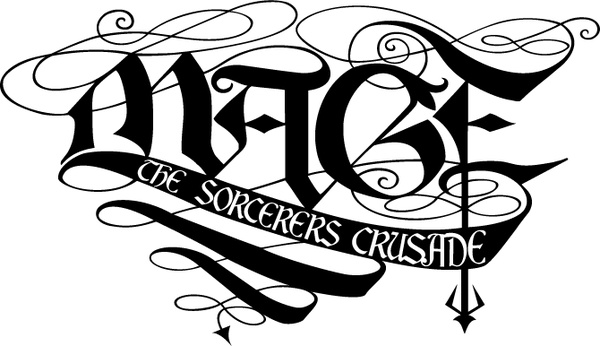 Mage: The Sorcerers Cruzade Logo photo - 1