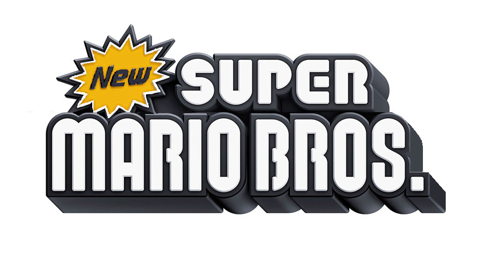 New Super Mario Bros Nintendo Logo photo - 1