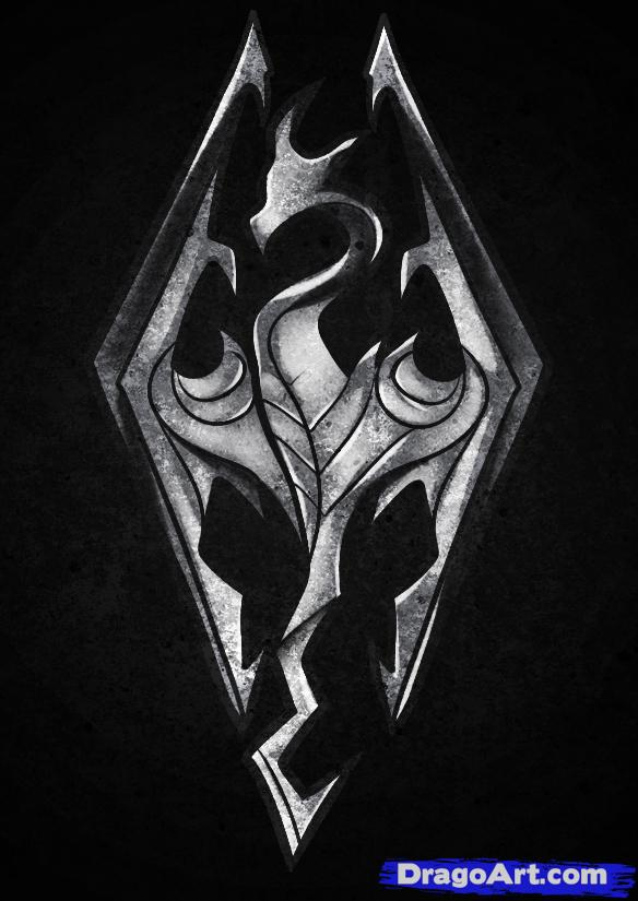 Skyrim Logo photo - 1