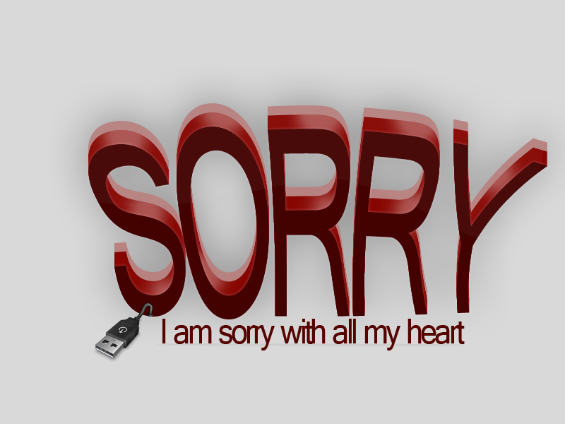 Sorry Logo photo - 1