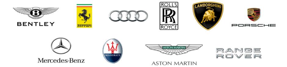 super car logo about of logos