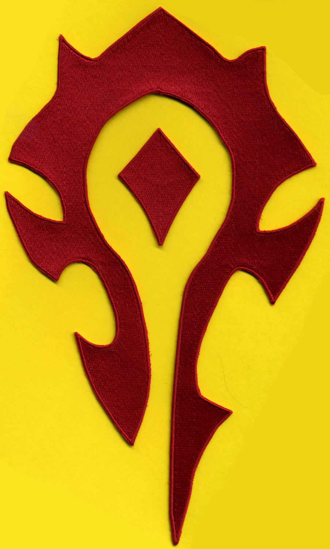 World of Warcraft Horde PvP Logo photo - 1