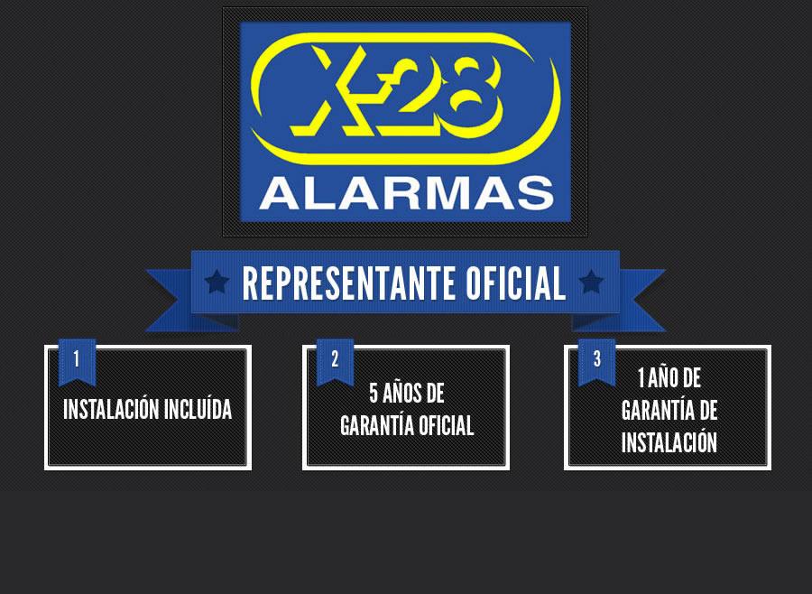 X-28 Alarmas Logo photo - 1